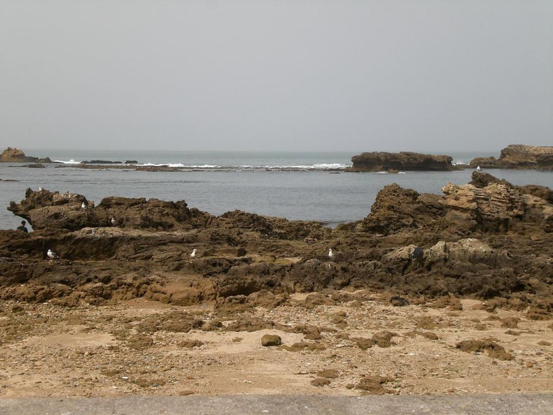 The Atlantic Ocean in Essaouira, Morocco.