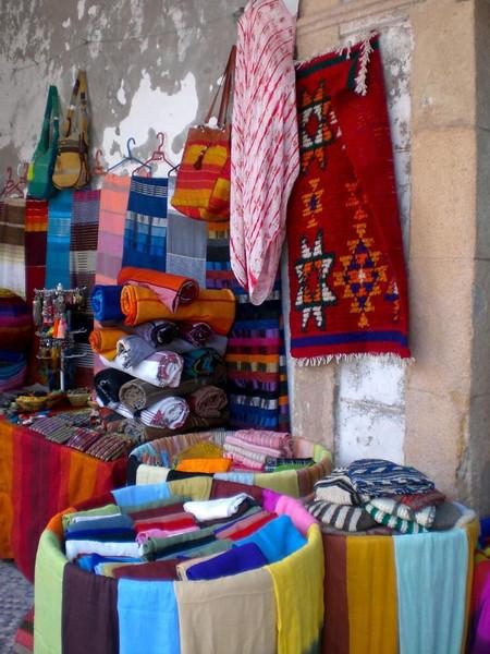 A shop in Essaouira, Morocco.