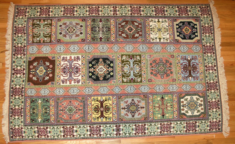 Rug we purchased in Fes.