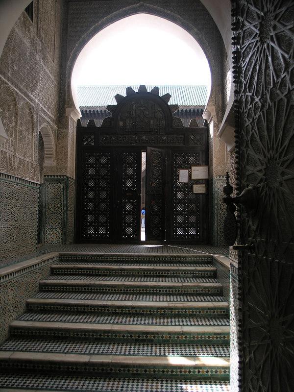 Medersa Bou Inania - Dormitory for the Koran school