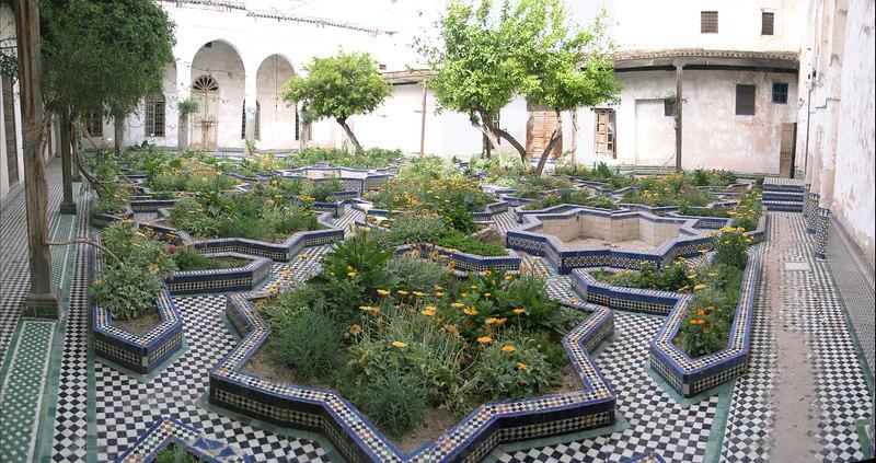 Dar Ba Mohammed Chergui Courtyard