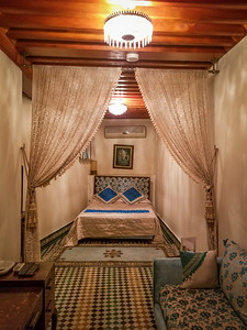 Our gorgeous hotel in the Fes Medina