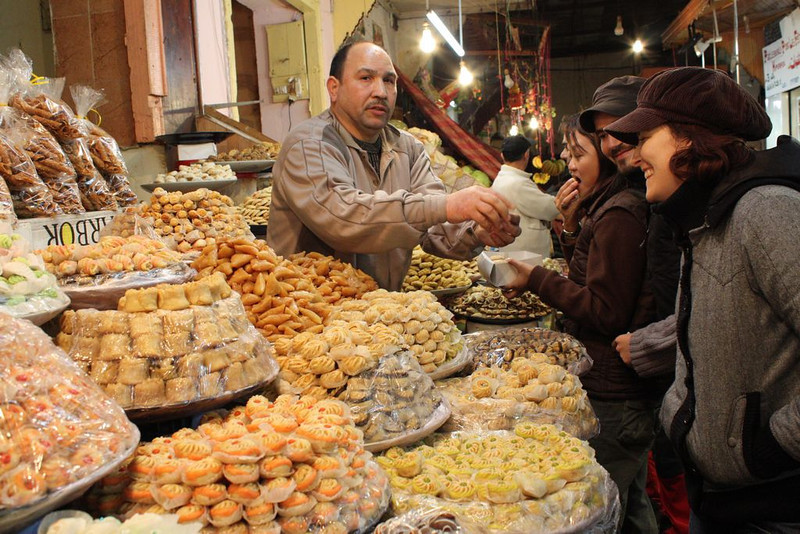 Market in Fez, Morocco