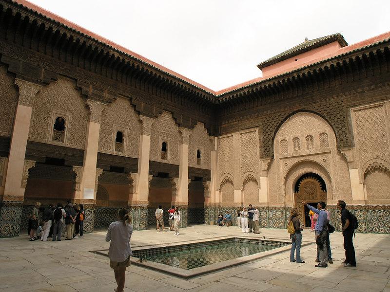 Medersa Ben Youssef (dormitory to the Koran school).
