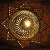 Lamp at Dar al Kounouz (our hotel)