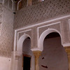 Inside the Dar Si Said Museum in Marrakesh.