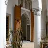 Inside the Dar Si Said Museum in Marrakesh.