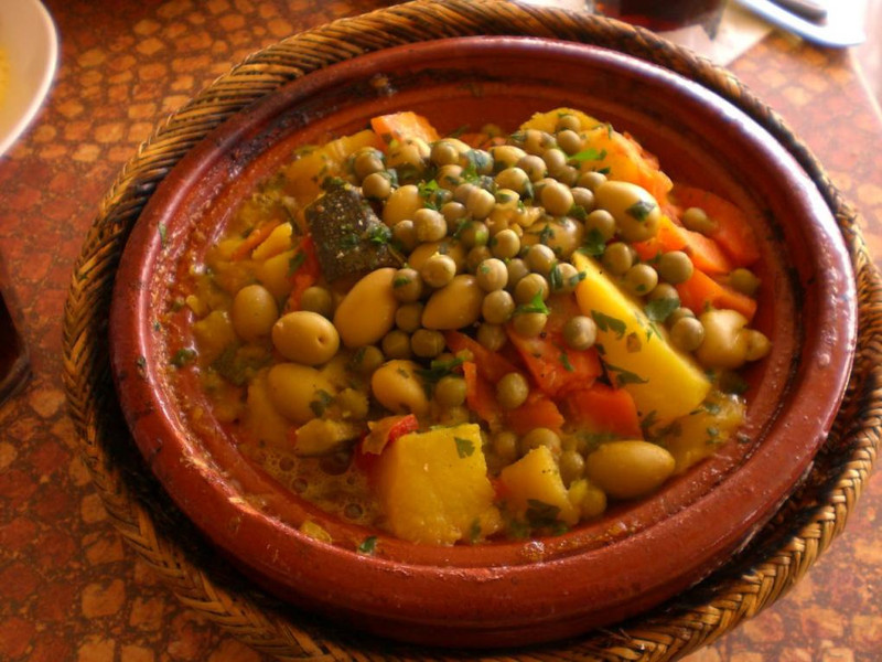 Tajine in Marrakesh.