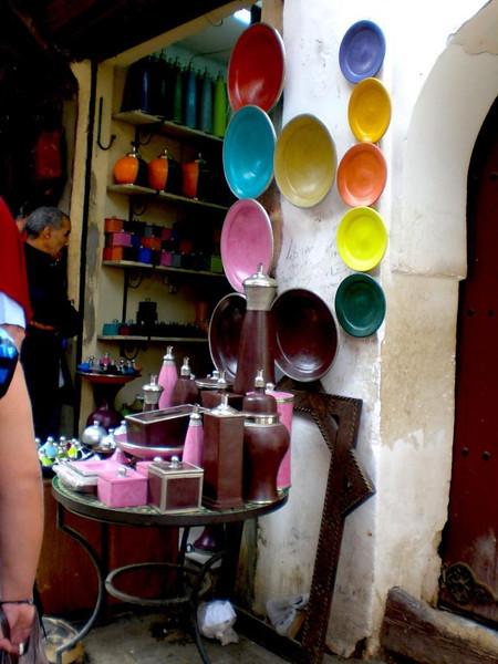 A shop in Marrakesh.