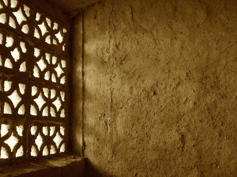 A window in Marrakesh.