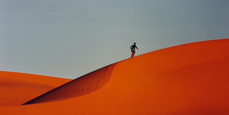 HIghest Dunes in Morocco