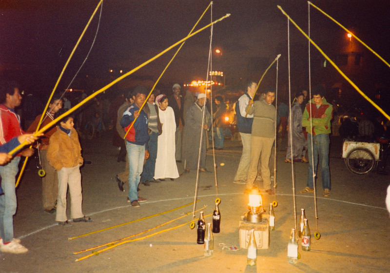 Night Scene in Marakesh