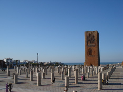 Le Tour Hassan And Ruined Pillars, Rabat - Morocco