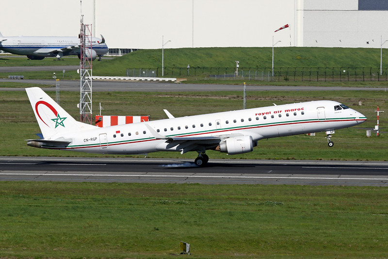 CN-RGP Embraer Emb-190-100IGW c/n 19000681 Toulouse-Blagnac/LFBO/TLS 29-03-21