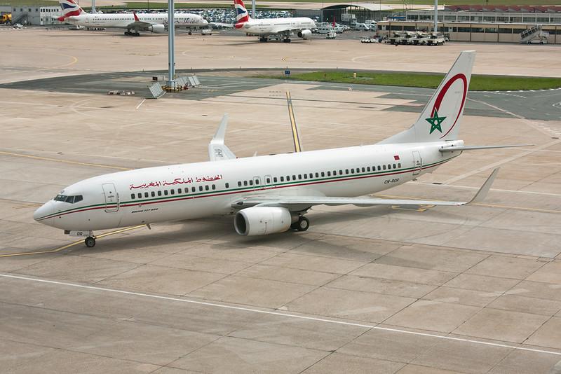 CN-ROR Boeing 737-8B6 c/n 33067 Paris-Orly/LFPO/ORY 27-03-10
