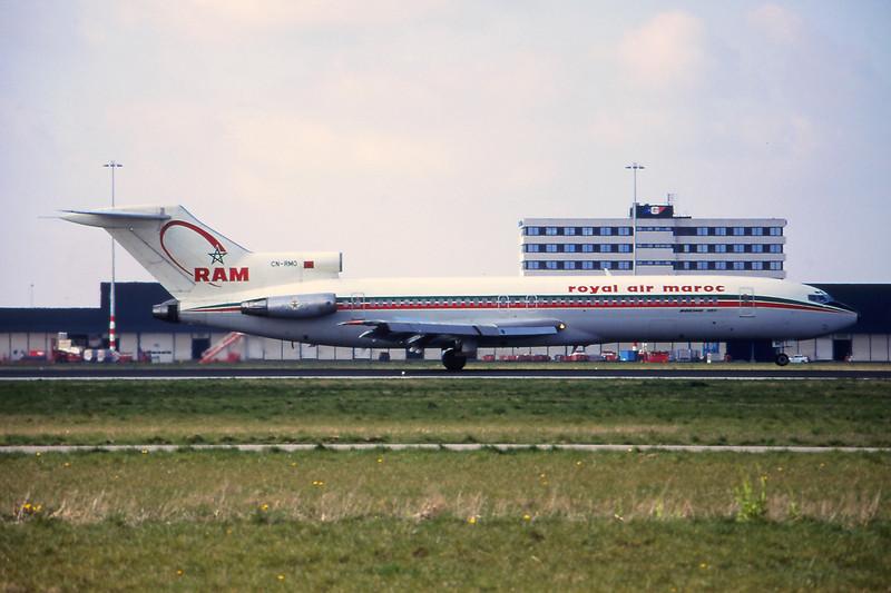 CN-RMO Boeing 727-2B6 c/n 21297 Amsterdam/EHAM/AMS 13-04-95 (35mm slide)