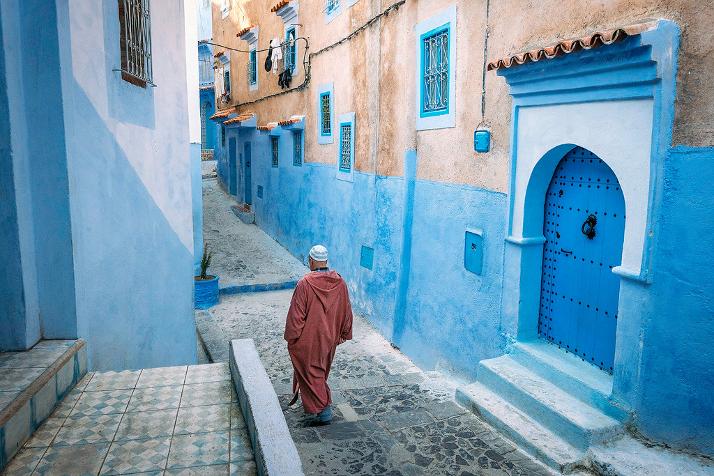 Chefchaouen Morocco Guide  Mysterious Chefchaouen: The Blue Pearl Of Morocco chefchaouen side streets XL