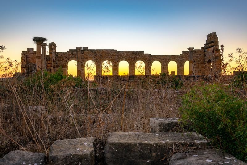2018-10-03KW-Volubilis_Sunset_Through_Arches