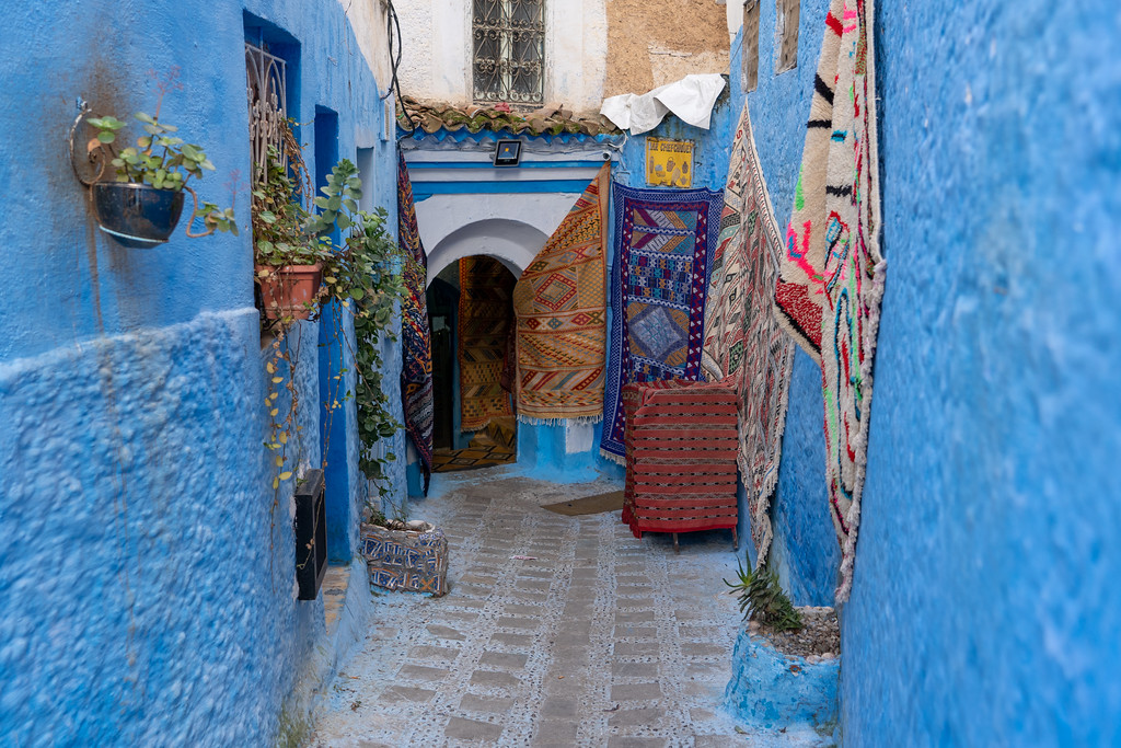 Store in Chefchaouen, Morocco