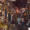 The narrow alleys of the souk