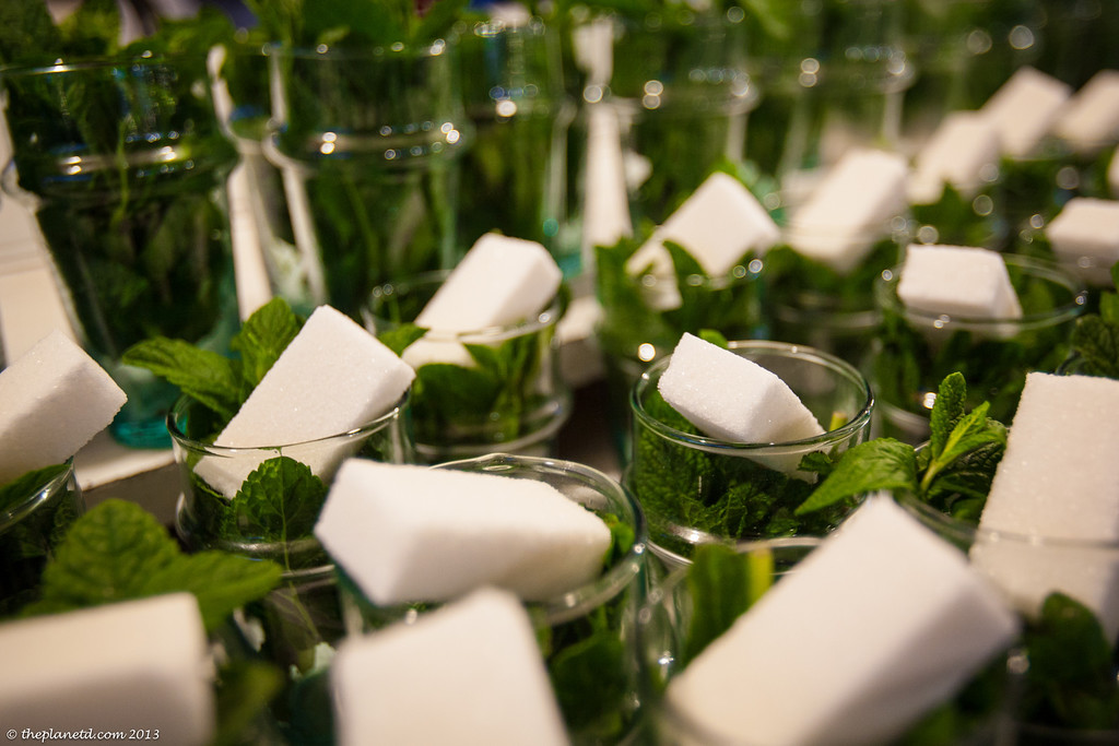 The perfect mint tea of Marrakech
