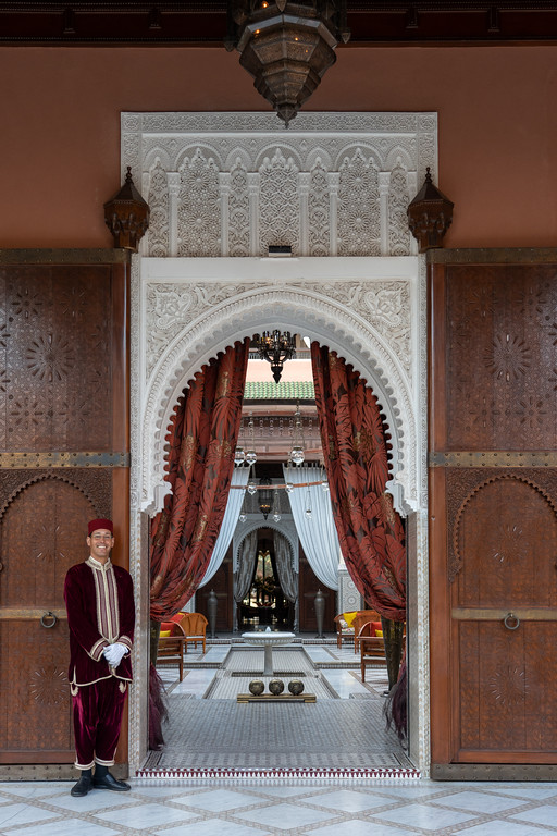 Royal Mansour doorway