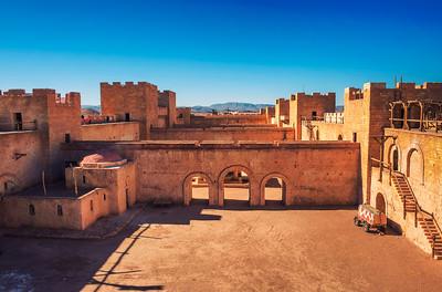 CLA Film Studios in Ouarzazate, Morocco