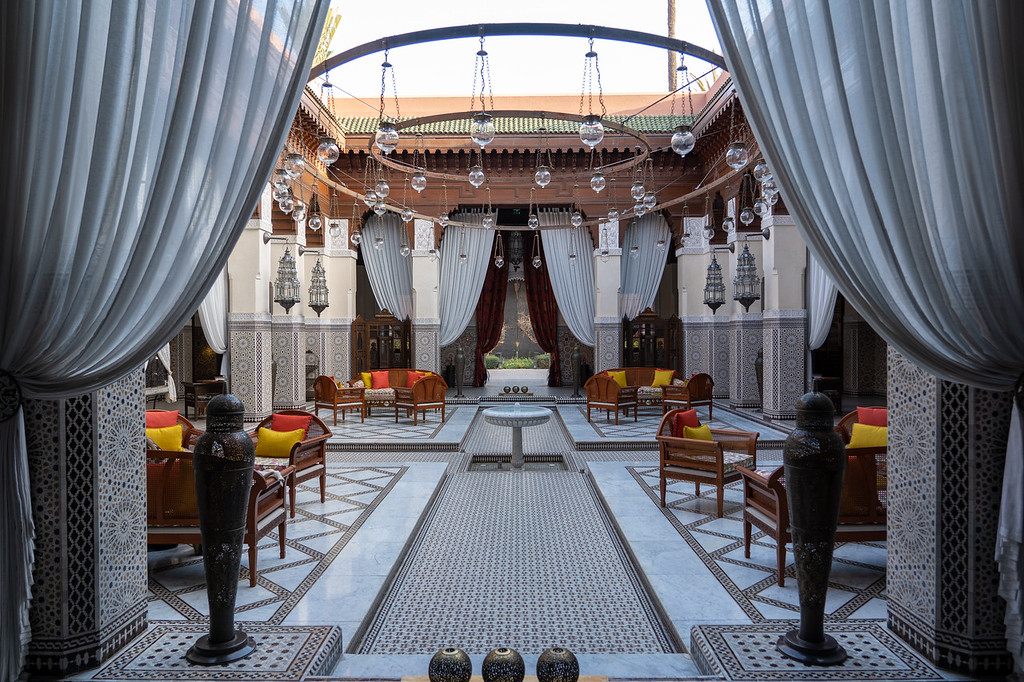 Inside the Royal Mansour