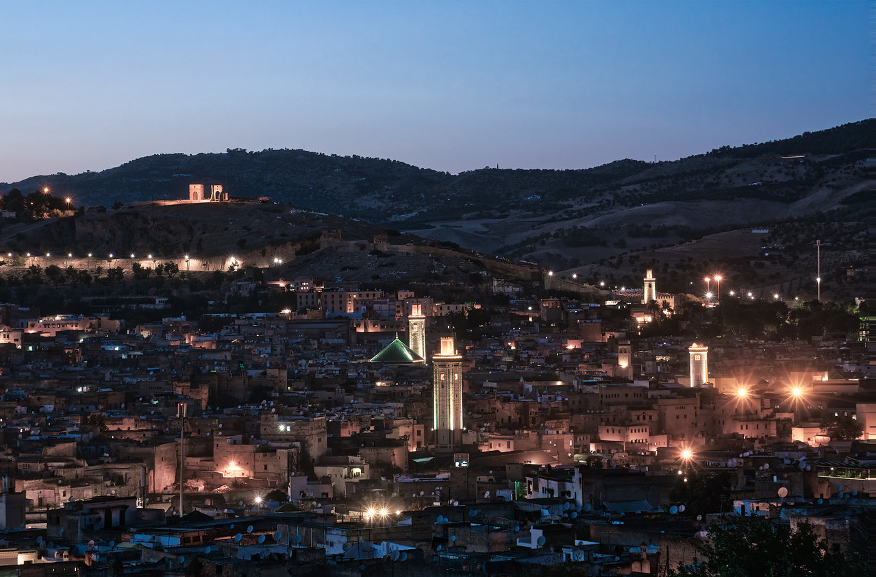 Fes Morocco at night - Photography workshop with Intentionally Lost and Kevin Wenning #intentionallylost