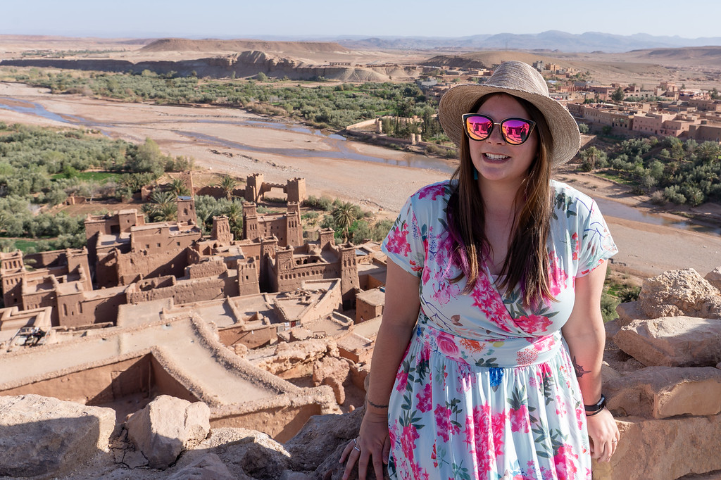 Amanda at Ait-Benhaddou