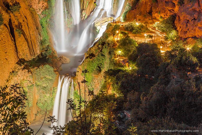 Cascades d'Ouzoud, Middle Atlas Mountains, Morocco.