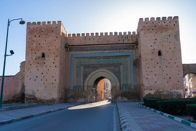 Bab El-Khemis Gate in Meknes