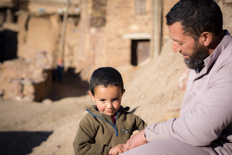 Berber Father and Son