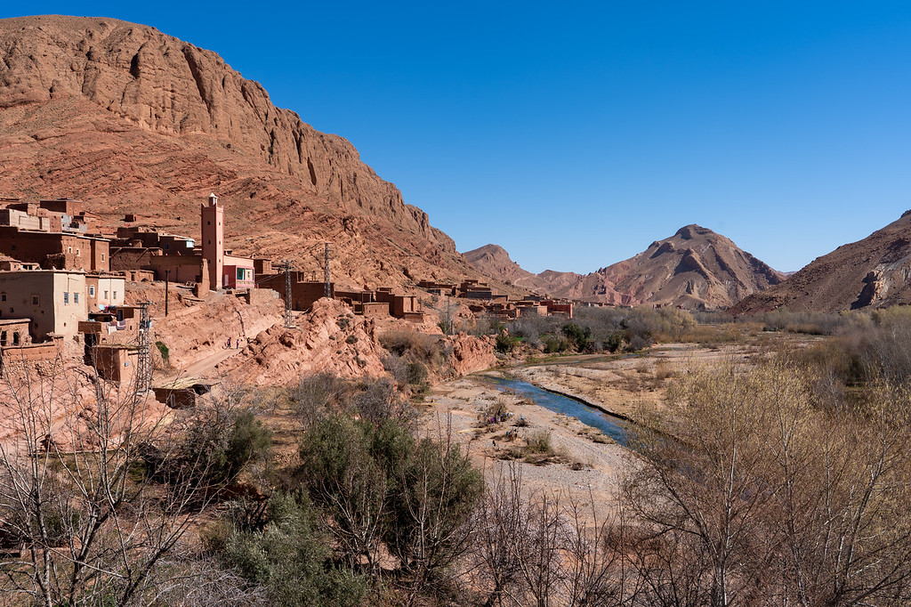 The Rose Valley in Morocco