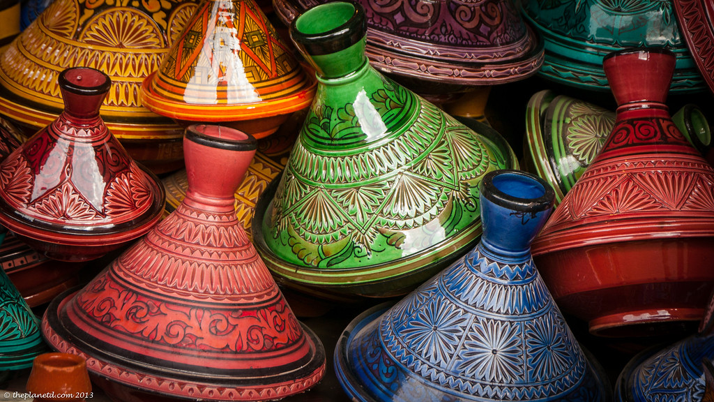 The colours of Marakech