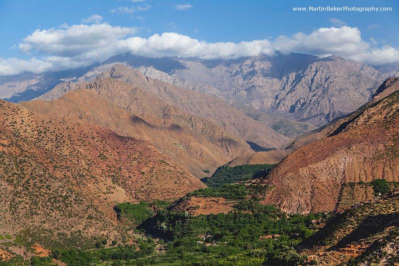 High Atlas Mountains, Imlil, Morocco.