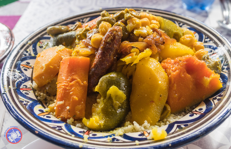 A Couscous Feast for Two at Zayna in the New Medina in Casablanca (©simon@myeclecticimages.com)