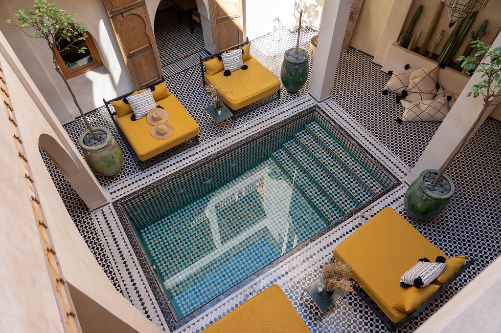 Pool at The Essence at Riad BE