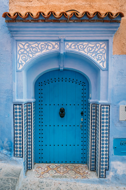 Blue Doors in Chefchaouen  Mysterious Chefchaouen: The Blue Pearl Of Morocco chefchaouen blue door XL