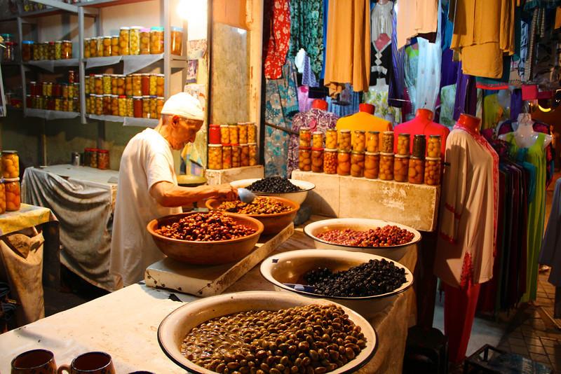Spice markets of morocco