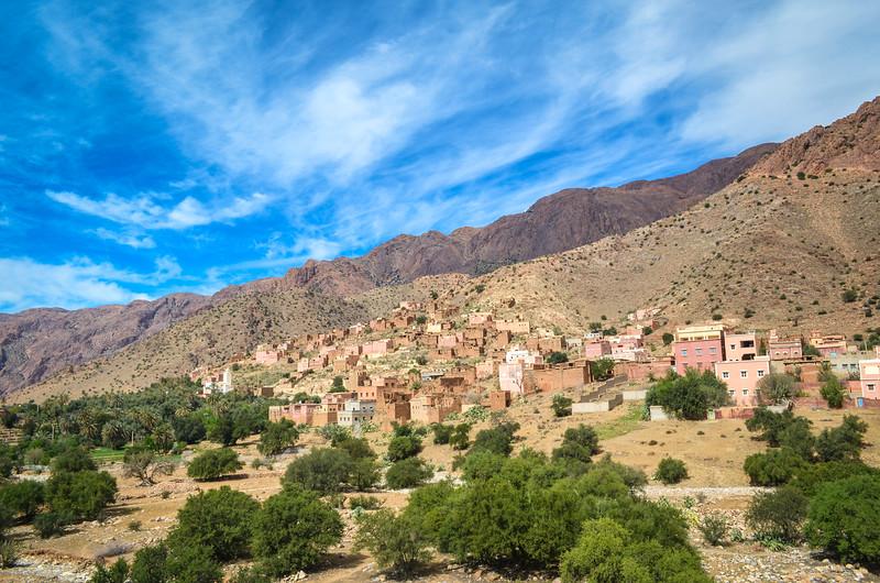 Tafraoute valley