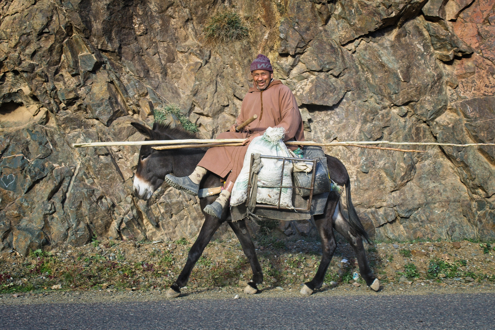 Everyday transportation in Morocco -