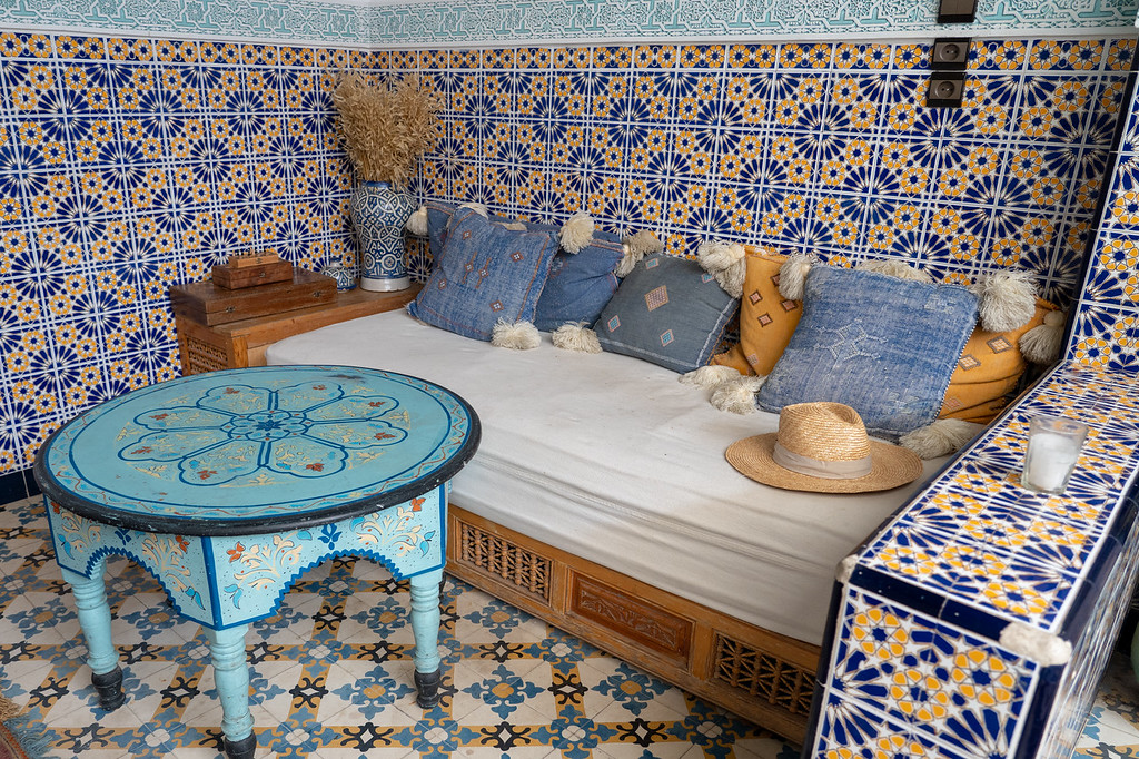 Lounge area at Riad BE Marrakech