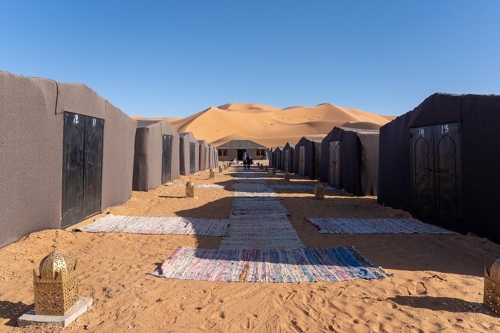 Hotel Yasmina Desert Camp in Morocco