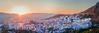20181003KW_Chaouen_Sunset_Sunstar_Pano