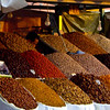 Spices for sale in Jemaa el Fna
