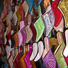 Shopping for shoes in the souk