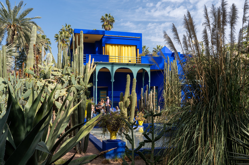 Jardin Majorelle in Marrakech