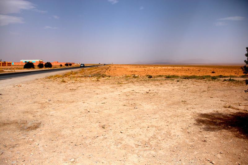 Desert bus ride