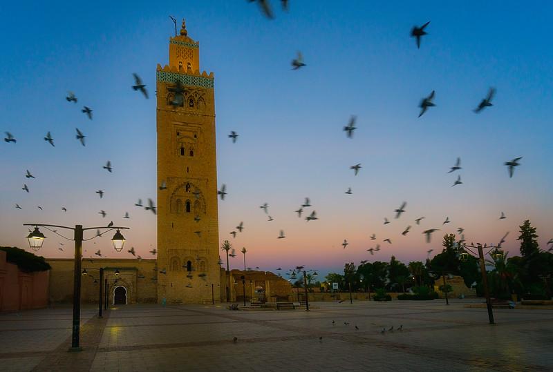 20181012KW_Kotoubia_Mosque_Sunrise
